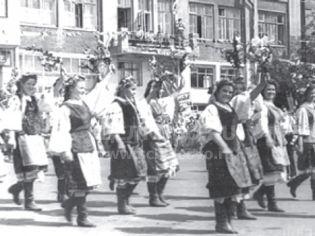 Щелково, ул. Советская, 54 - лето 1957 г.
