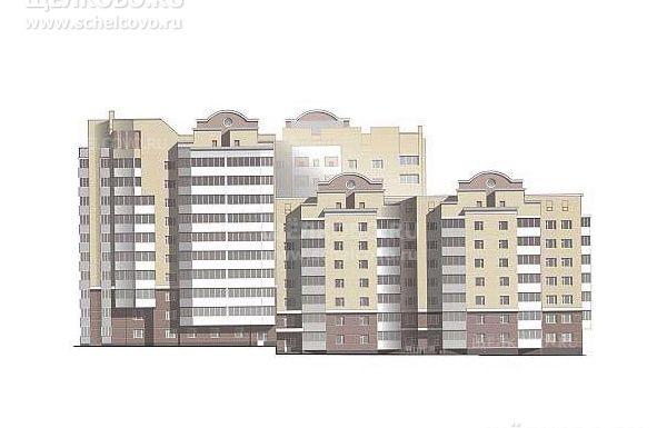 Фото проект жилого дома № 11 по ул.8-е Марта в микрорайоне Жегалово г. Щелково - Щелково.ru