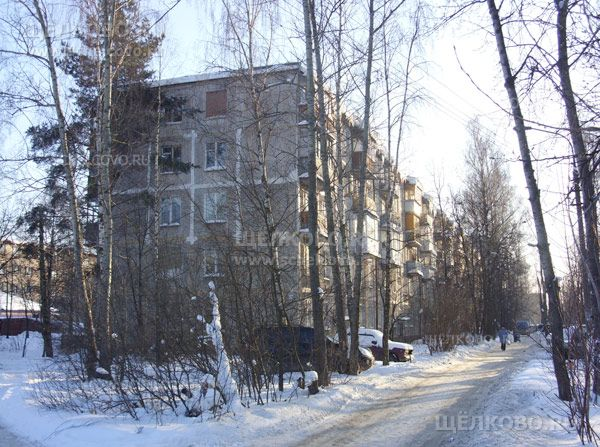 Фото г. Щелково, ул. Полевая, дом 10 - Щелково.ru