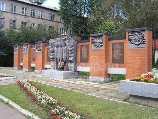Город Щёлково. Улица Парковая в 2008 году