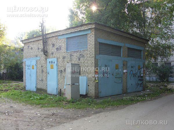 Фото трансформаторная подстанция №391 во дворе дома № 1 поул.Первомайская г. Щелково - Щелково.ru