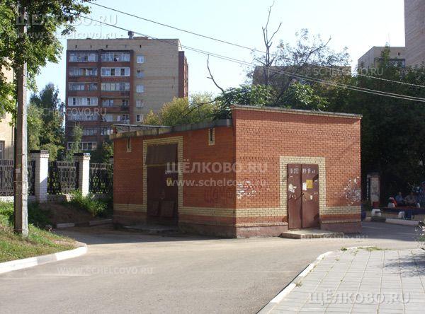 Фото трансформаторная подстанция №353 во дворе дома № 4, корпус 4 по Пролетарскому проспекту г. Щелково - Щелково.ru