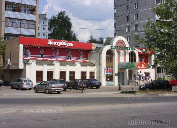 Фото торговый комплекс — пристройка к дому № 6а по ул. Талсинская г. Щелково - Щелково.ru