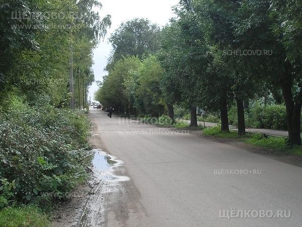 Фото улица Иванова г. Щелково (вид с улицы Парковая) - Щелково.ru