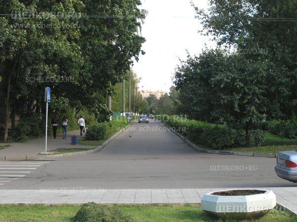 Фото улица Парковая г. Щелково (вид с площади на улице Пушкина) - Щелково.ru