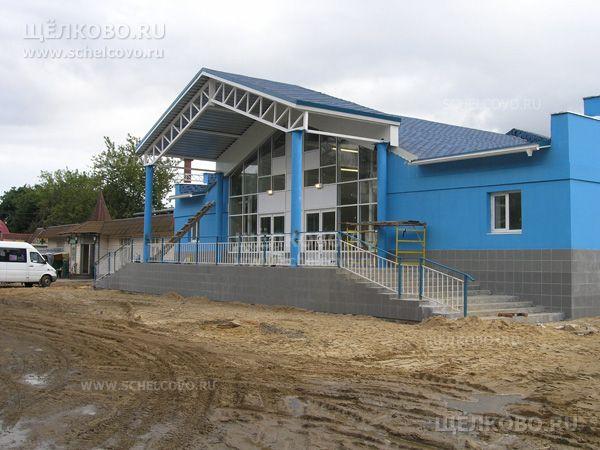 Фото новое здание билетных касс железнодорожной станции «Воронок» в г. Щелково - Щелково.ru