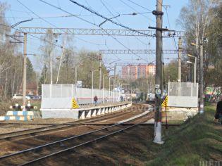 Адрес Щелково, мкр. Чкаловский, ул. Радиоцентр-5, ж/д станция «Чкаловская» - 23 апреля 2014 г.