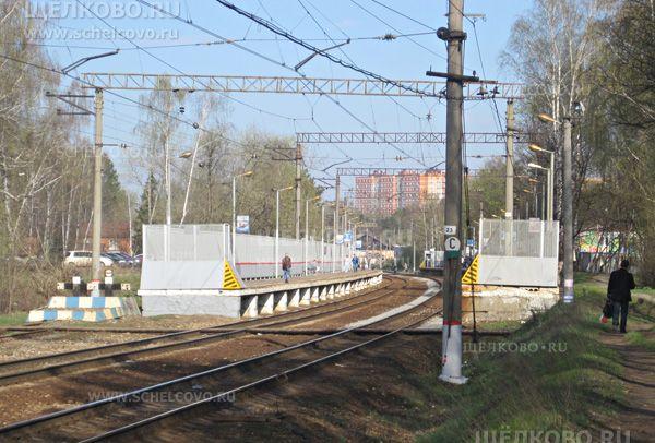 Фото железнодорожная станция «Чкаловская» в Щелково - Щелково.ru