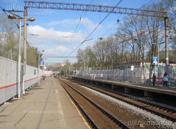 Фото реконструкция ж/д станции «Чкаловская» г. Щелково - Щелково.ru