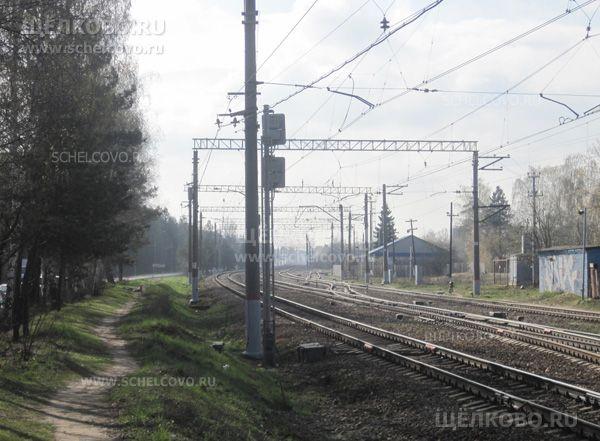 Фото вид от ж/д станции «Чкаловская» в сторону микрорайона Бахчиванджи г. Щелково - Щелково.ru