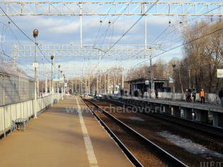Щелково, улица Центральная, ж/д платформа «Соколовская»
