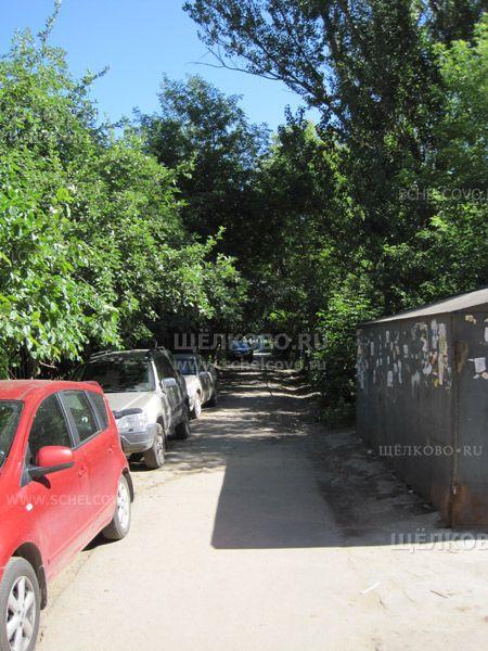 Фото г. Щелково, 1-й Центральный проезд (вдоль забора школы № 16) - Щелково.ru