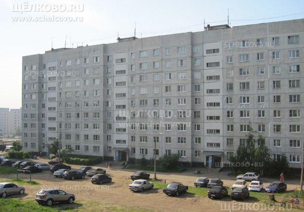 Фото дом № 20 по улице Комсомольская г. Щелково (вид с Фряновского шоссе) - Щелково.ru