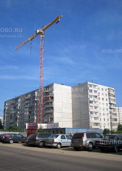 Фото строительство нового 14-этажного дома на улице Заречная г. Щелково (пристройка к дому № 12 по Пролетарскому проспекту) - Щелково.ru