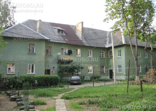 Фото г. Щелково, ул. Центральная, дом 36 (вид со двора) - Щелково.ru