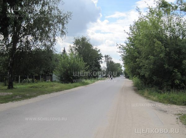 Фото улица Хотовская г. Щелково (деревня Хотово) - Щелково.ru