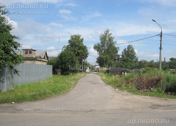 Фото г. Щелково, 1-й Железнодорожный тупик (деревня Хотово) - Щелково.ru
