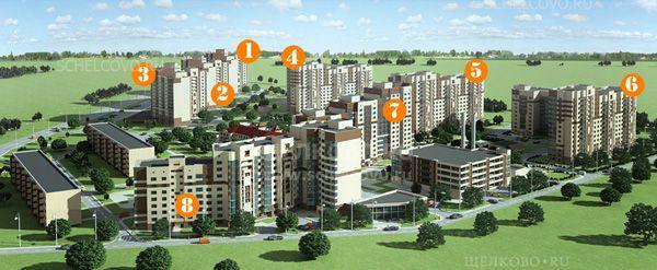 Фото проект жилого комплекса «Аничково» - Щелково.ru