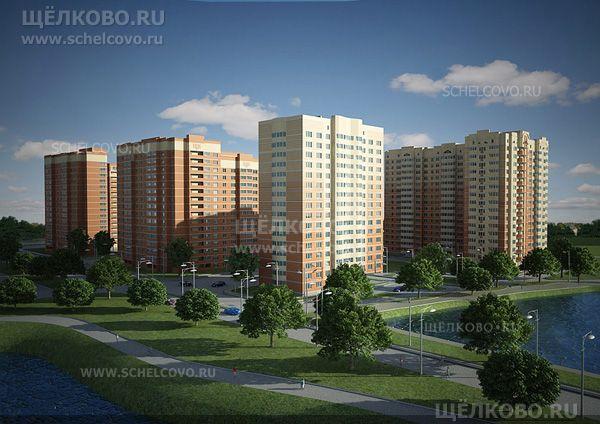 Фото проект жилого комплекса на улице Неделина в Щелково - Щелково.ru