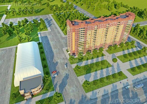 Фото первоначальный проект жилого дома № 71, корпус 2 по улице Центральная г. Щелково - Щелково.ru
