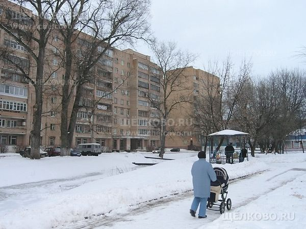 Фото дорожка вдоль ручья Поныри в Щелково (слева— дом№5 по Пролетарскому проспекту) - Щелково.ru