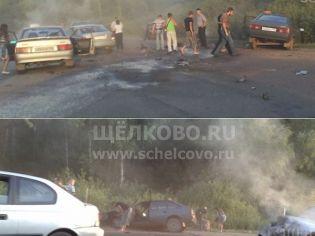 Происшествия в городе ирайоне Щелково
