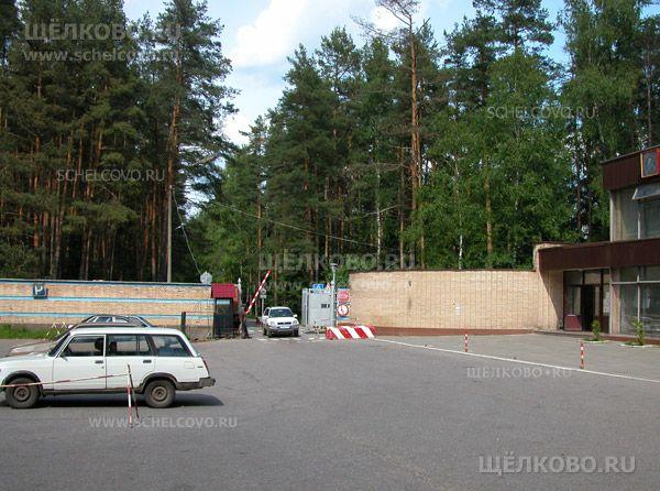 Фото контрольно-пропускной пункт при въезде в Звёздный городок - Щелково.ru