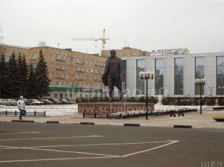 Щелково, пл. Ленина, 2а - 16 января 2008 г.
