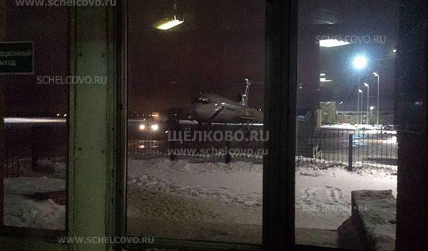 Фото последнее фото самолёта Ту-154 на аэродроме «Чкаловский» в Щёлково, разбившегося спустя несколько часов над Чёрным морем - Щелково.ru
