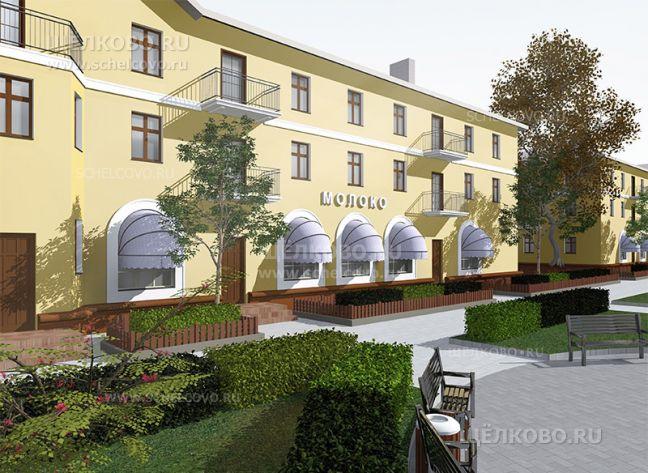 Фото проект реконструкции улицы Парковая в Щелково (около дома №16) - Щелково.ru