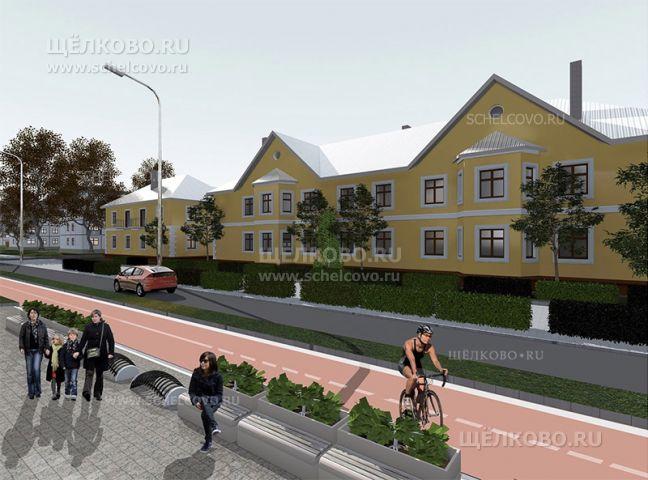 Фото проект реконструкции улицы Парковая в Щелково (около дома №23) - Щелково.ru