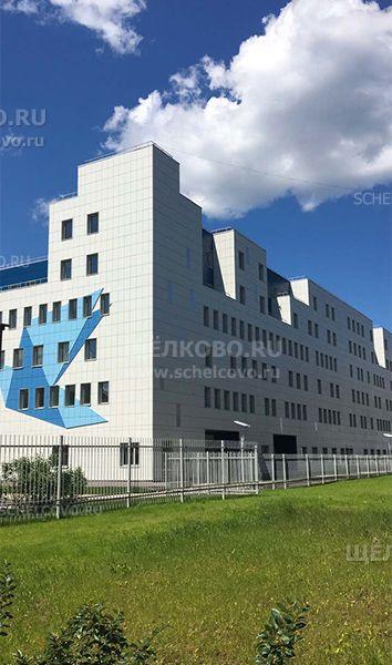 Фото новый перинатальный центр в Щелково (вид с улицы Парковая) - Щелково.ru