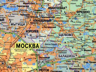 Карты и схемы Щелково