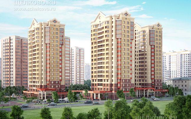 Фото проект жилого комплекса «Пустовский» вЩелково (1-й Советский переулок) - Щелково.ru