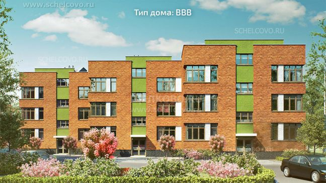 Фото проект дома типа ВВВ в жилом комплексе «Анискино» - Щелково.ru