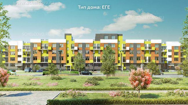 Фото проект дома типа ЕГЕ в жилом комплексе «Анискино» - Щелково.ru