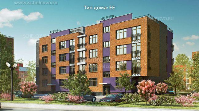 Фото проект дома типа ЕЕ в жилом комплексе «Анискино» - Щелково.ru