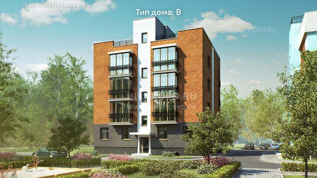 Фото проект дома типа В в жилом комплексе «Анискино» - Щелково.ru