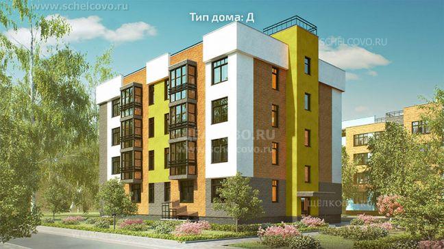 Фото проект дома типа Д в жилом комплексе «Анискино» - Щелково.ru