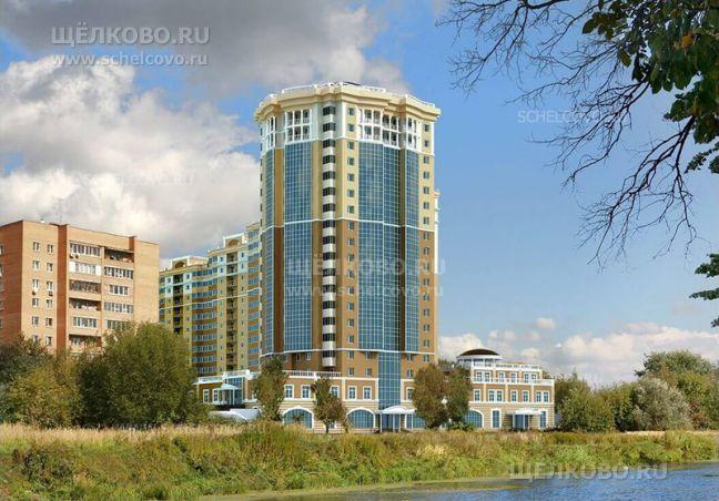 Фото проект дома № 8, корпус 2 по улице Заречная в Щелково (вид с Пролетарского проспекта) - Щелково.ru