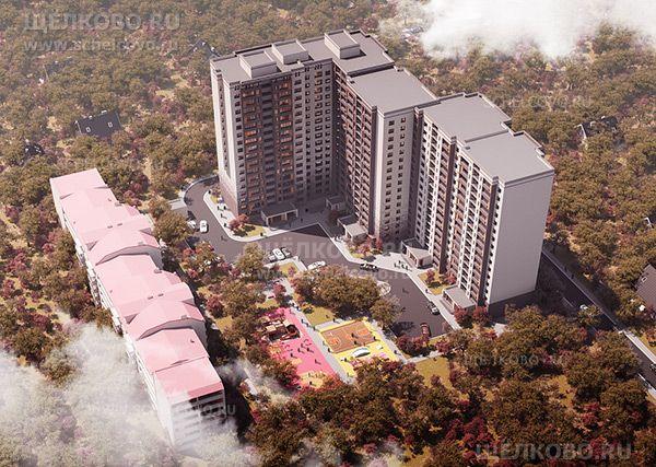 Фото проект нового жилого дома на улице Механизаторов в Щёлково (слева— дом № 9) - Щелково.ru