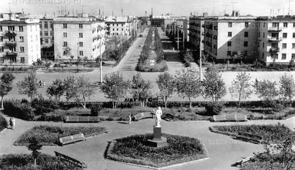 Фото улица Парковая г. Щёлково (вид от улицы Пушкина) - Щелково.ru