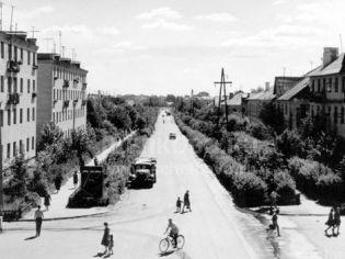 Старые фото улицы Центральная города Щелково