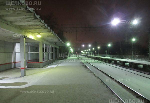 Фото платформа «Соколовская» (в сторону Москвы) - Щелково.ru