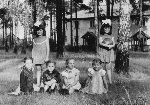 Фото в посёлке Радиоцентра около дома №9 (слева на заднем плане— дом №5) - Щелково.ru