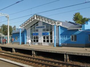Фото железнодорожной станции «Воронок» в Щёлково (ул.Первомайская)