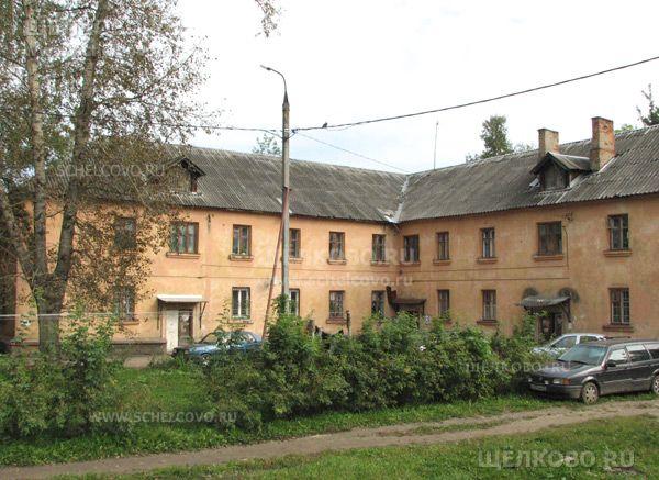 Фото г. Щелково, ул. Центральная, дом 66 (вид со двора) - Щелково.ru