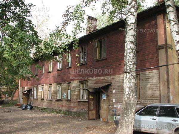 Фото г. Щелково, ул. Пионерская, дом 18 (вид со двора) - Щелково.ru
