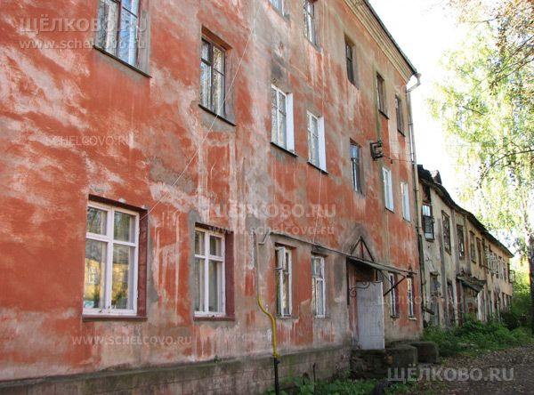 Фото г. Щелково, дом на улице Новая Фабрика - Щелково.ru
