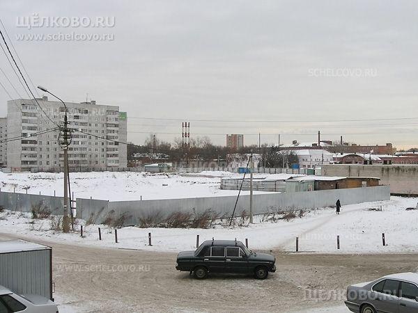 Фото подготовка к строительству средней школы на улице Заречная г. Щелково (микрорайон «Солнечный») - Щелково.ru